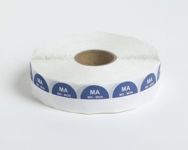 HACCP Maandag Stickers