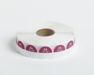 HACCP Zaterdag Stickers