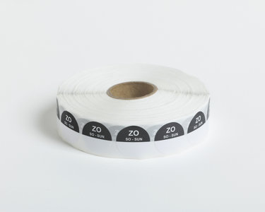 HACCP Zondag Stickers