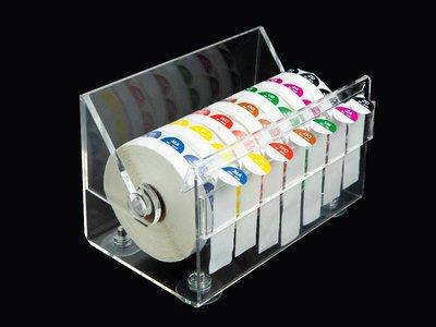 HACCP stickers voordeelpakket 7 dagen + dispenser